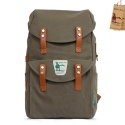 옐로우스톤(YELLOWSTONE) CANVAS BACKPACK Buffalo bag - ys1017mk (MUD KHAKI)