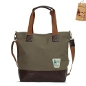 옐로우스톤 CANVAS SHOULDER BAG  clover bag - ys2008mk (MUD KHAKI)