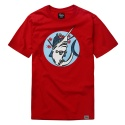 파퓰러너드(POPULARNERD) Oldman t-shirts red