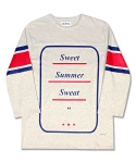 마치위드(MARCHWITH) S.S.S FOOTBALL TEE OATMEAL