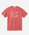 S/S COLLEGE LOGO T-SHIRTS RED