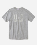 S/S COLLEGE LOGO T-SHIRTS GRAY