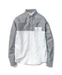 L/S Anderson Shirt Sparrow/White Rigid