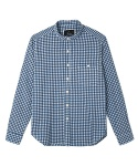 blue gingham shirts