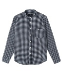 어레인지(ARRANGE) navy gingham shirts