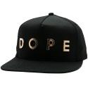 도프 프리사이스 골드 메탈 스냅백 (DOPE Precise Gold Metal Snapback) DP14-206-Black