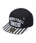 BASKETBALL STRIPE SNAPBACK