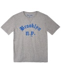어레인지(ARRANGE) brooklyn n.y. T-shirts (melange gray)