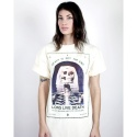 DEATH IS NOT REAL TEE CREAM