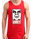 OBEY ICON FACE STANDARD ISSUE COLLECTION RED