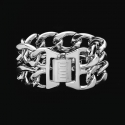 디오디(DOD) Woman Double Chain Bracelet Platinum