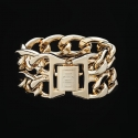 디오디(DOD) Woman Double Chain Bracelet Gold