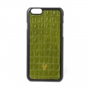 디오디(DOD) iPhone_Crocodile skin_British green