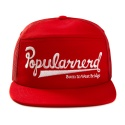 파퓰러너드(POPULARNERD) Logo mesh cap red