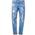 M#0404 wasa destroyed washing jeans