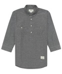 OX-PULLOVER SHIRTS (GREY)