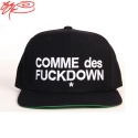 COMME des FUCK DOWN - snap back - BLACK_꼼데퍽다운스냅백