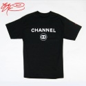 CHANNEL 00 - SHORT TEE - BLACK