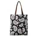 BIG PAISLEY CE2 TOTE BAG (BLACK)