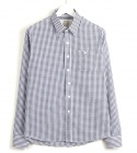 Gingham check Seersucker shirts.