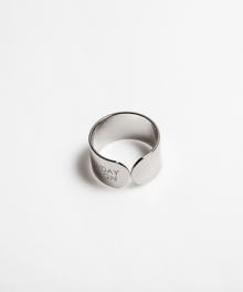[usual M.E] usual simple ring (실버색상)
