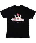 킬러비(KILLER BEE) Go Surf T-shirt (black)