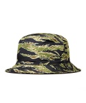 STEREO REVERSIBLE BUCKET HAT (TigerCamo Original)