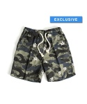 "MUSINSA EXCLUSIVE - Hemp Shorts ""White Camo"""