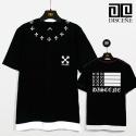 CROSS CLOVER Shot T-Shirt-Black