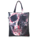 리쿼브랜드(LIQUOR BRAND) SKULL SHOPPER BAG
