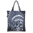 리쿼브랜드(LIQUOR BRAND) INDIAN SKULL SHOPPER BAG