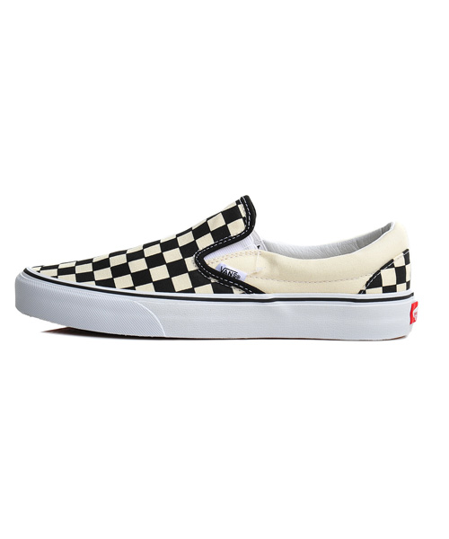반스(VANS) VN-0EYEBWW / 반스 클래식 슬립온 / SLIP-ON BLACK/WHITE CHECKER / VN000EYEBWW1