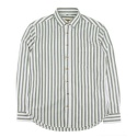 UMR 52 vertical stripe shirts_green(남여공용)