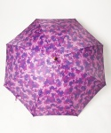 frog camoflage umbrella -purple-
