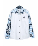 3COSTE CAMOUFLAGE PRINT COTTON JACKET