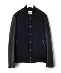 무신사한정상품 LOFI Stadium Jacket Rider type (NAVY)