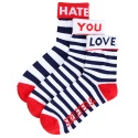 SOXLETER - LOVE HATE NAVY