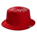 Donut Bucket hat red