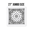 로스코(ROTHCO) 27INCH BIG TRAINMEN BANDANA (WHITE)