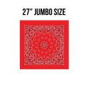 로스코(ROTHCO) 27INCH BIG TRAINMEN BANDANA (RED)
