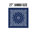 로스코(ROTHCO) 27INCH BIG TRAINMEN BANDANA (NAVY)