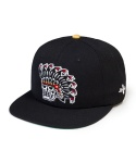 LEATA x Woo tattooer 6 panel cap black