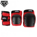 [SMITH] ADULT 3-PACK SAFETY GEAR SET (Red)