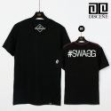 SWAG V neck T-Shirt-Black