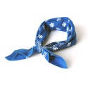 PAISLEY COTTON BANDANA (ROYAL BLUE)