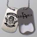 La Coka Nostra Logo Dog Tags