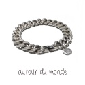 오뜨르 뒤 몽드(AUTOUR DU MONDE) ANTIQUE CHAIN MEN BRACELET