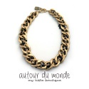 오뜨르 뒤 몽드(AUTOUR DU MONDE) GOLD ANTIQUE NECKLACE