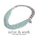 오뜨르 뒤 몽드(AUTOUR DU MONDE) MINT CHAIN NECKLACE