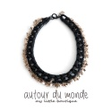 오뜨르 뒤 몽드(AUTOUR DU MONDE) GOLD STAR CHAIN NECKLACE